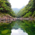 連休でも静かな川を楽しむ。