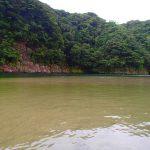 静かな川時間。