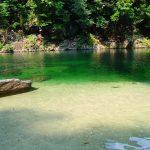 暑い夏は綺麗な川へ。