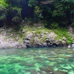 屋久島の川を楽しもう。